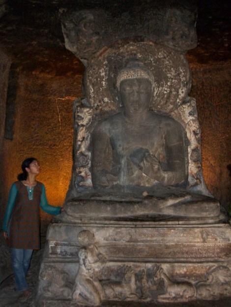 Buddha in preaching pose